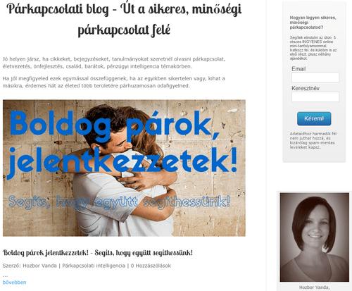 Pallanea - Párkapcsolati blog