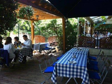 Árnyas étterem - A legszebb kertvendéglővel